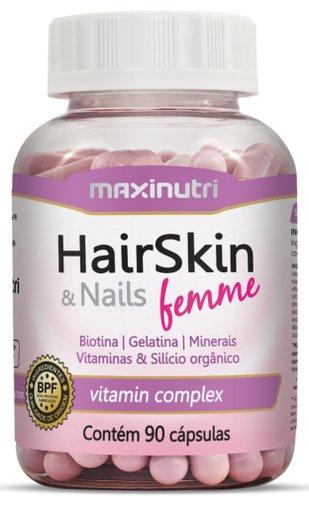 HairSkin & Nails Femme 90 cápsulas