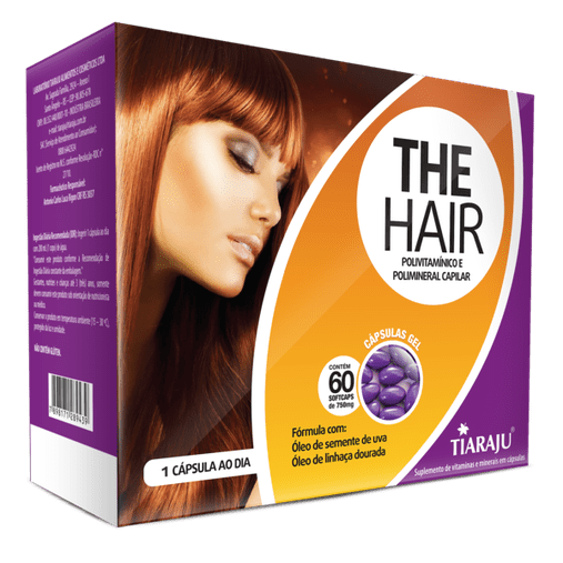 The Hair  Feminino - 60 Cáps. Softgel