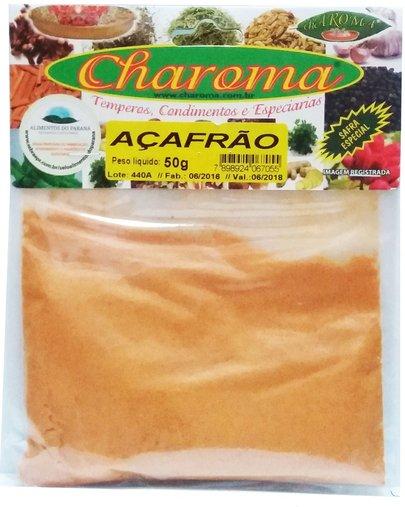 Açafrão Pó 50g - Charoma