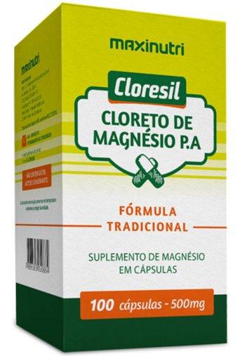 Cloresil 100 cápsulas 500mg Maxinutri