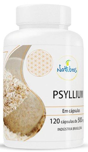 Psyllium Nattubras 500mg 120 Cápsulas