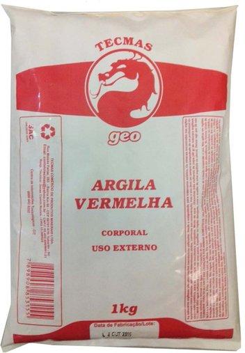 Argila Vermelha 1kg - Tecmas Geo