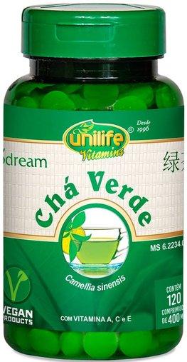 Chá Verde Biodream 400mg 120 Comprimidos - Unilife