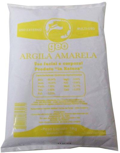 Argila Amarela 1kg - Tecmas Geo