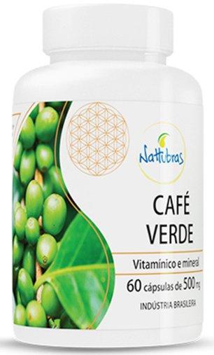 Café Verde Nattubras 500mg 60 Cápsulas