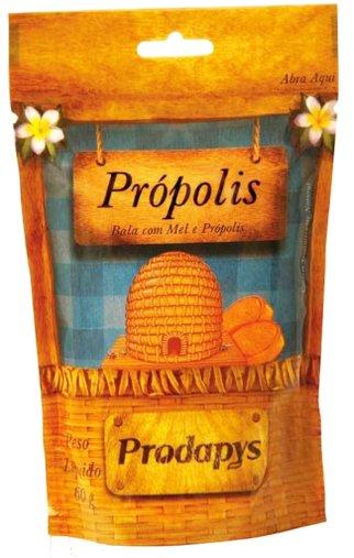 Bala com Mel e Própolis 60g - Prodapys