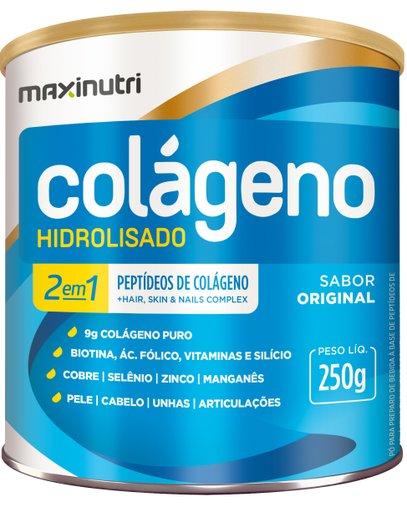 Colágeno Hidrolisado Maxinutri 250gr Natural