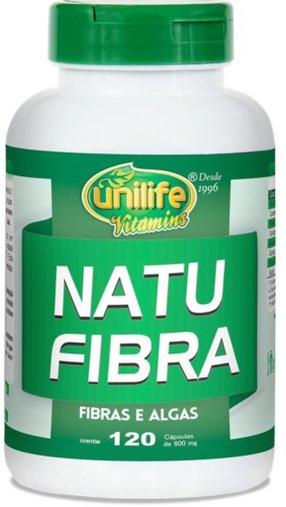 Natu Fibra 120 cápsulas 600mg - Unilife