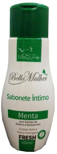 Sabonete Líquido Íntimo - Menta com Extrato de Aroeira e Barbatimão - 200ml