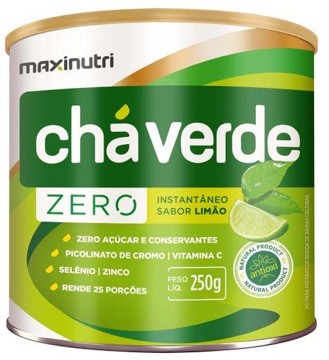 Chá Verde Zero Maxinutri 250gr Sabor Limão