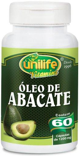 Óleo de Abacate 60 Cápsulas 1200mg - Unlife