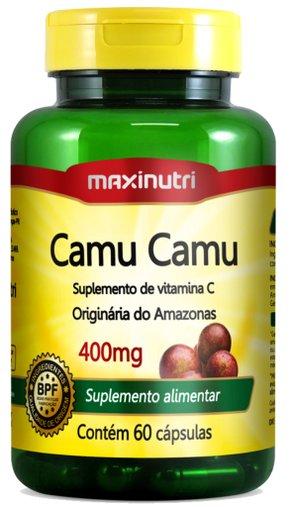 Camu Camu Maxinutri 400mg 60 Cápsulas