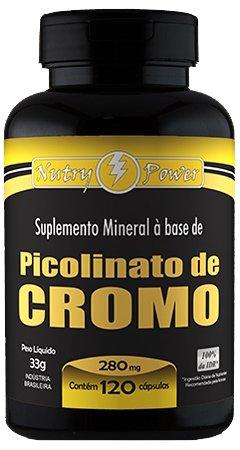 Picolinato de Cromo 120 cápsulas de 280mg - Apisnutri