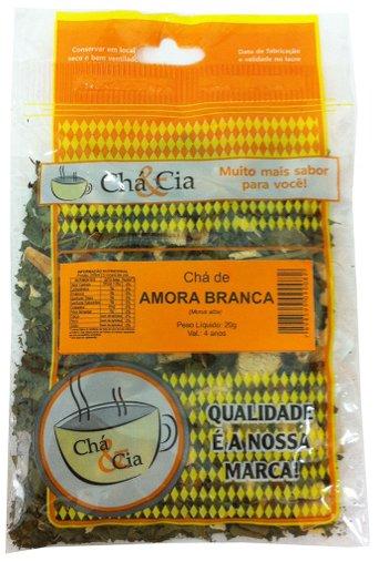 Amora Branca 20g - Chá & Cia