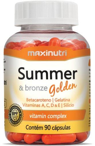 Summer Bronze Golden Maxinutri 585mg Betacaroteno 90 Cápsulas