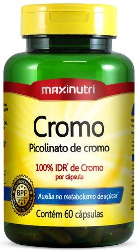 Cromo - Picolinato de Cromo 60 cápsulas Maxinutri