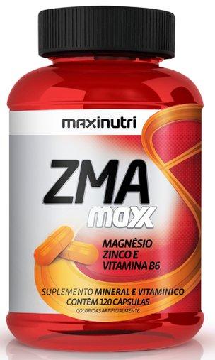 ZMA Maxx Magnésio Zinco e Vitamina B6 120 cápsulas Maxinutri