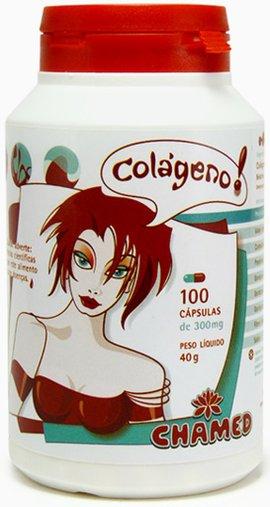 Colágeno 100 caps 350mg - Chamed