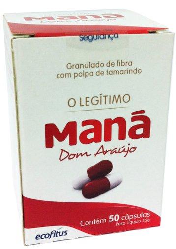 Maná Dom Araújo Legítimo 50 Cápsulas Ecofitus