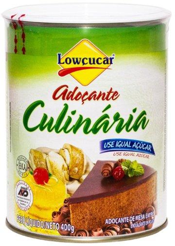 Adoçante Culinario 400g Lowçucar