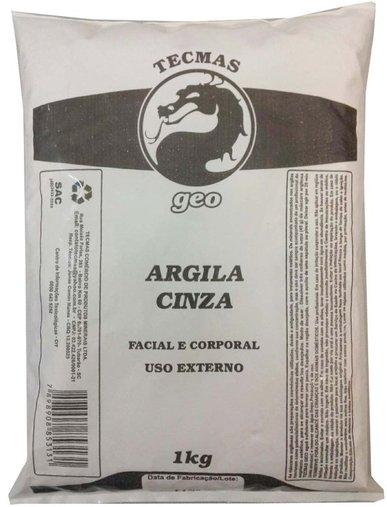 Argila Cinza 1kg - Tecmas Geo