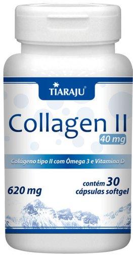 Collagen II Colágeno Tipo 2 com Ômega 3 e Vitamina D Tiaraju 30 cápsulas
