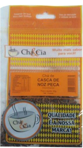 Casca de Noz Peca 20g - Chá & Cia