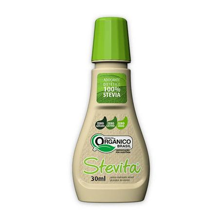 Adoçante líquido Orgânico 30 ml Stevita