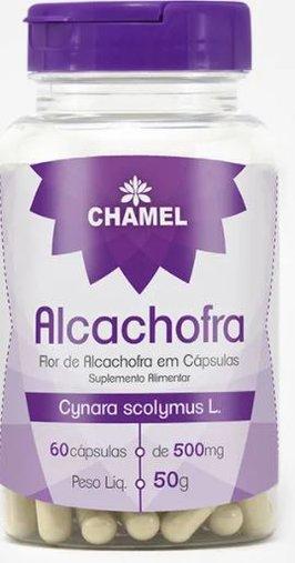 Alcachofra 60 cápsulas 500mg Chamed