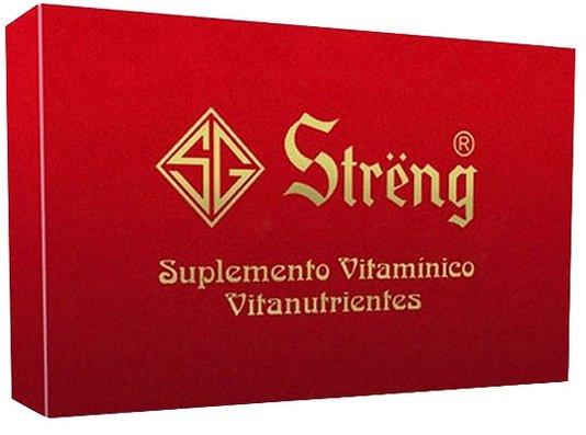 Streng Suplemento Vitamínico com 16 flaconetes