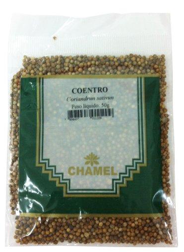Coentro 50g - Chamel
