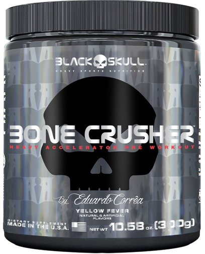 Bone Cruscher 300g OZ Yelow Fever -Frutas Amarelas BlackSkull