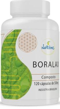 Boralax Nattubras 500mg 120 Cápsulas