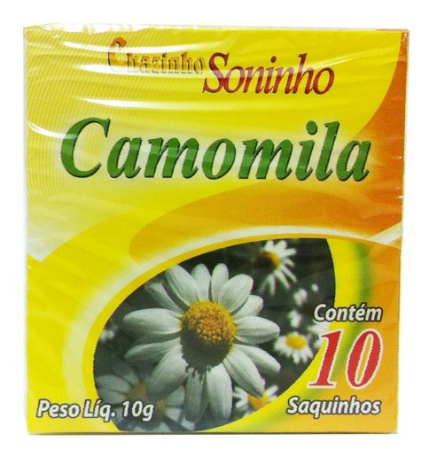 Chazinho Soninho Camomila 10g sachês