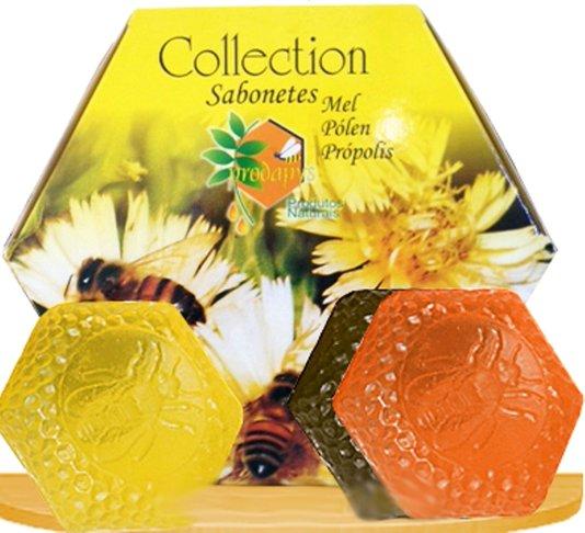 Sabonete glicerinado com 3 un mel, própolis e pólen - Prodapys