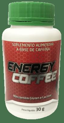 Cafeína - Energy Coffee 60 cápsulas 200mg Medinal