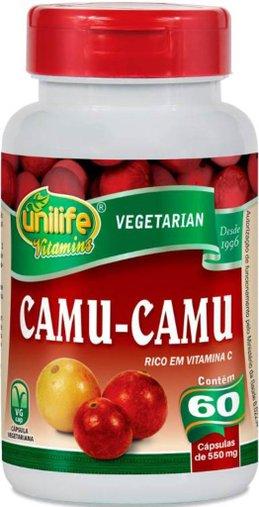 Camu-Camu 60 cápsulas 500mg Unilife
