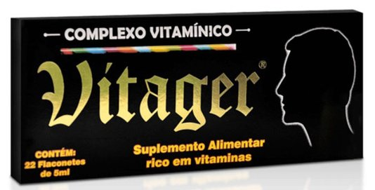 Vitager 22 Flaconetes de 5 ml