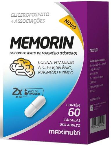 Memorin Fósforo + Vitaminas 60 cápsulas Maxinutri
