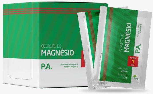 Cloreto de Magnésio P.A. 33g cada sachê caixa com 20 sachês Medinal