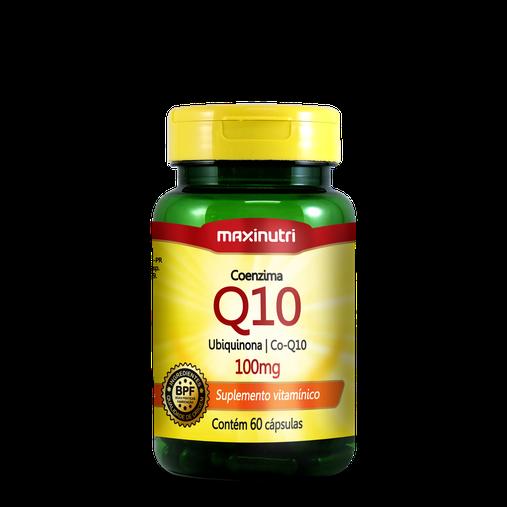 Coenzima Q10 Ubiquinona Co-Q10 100mg 60 cápsulas Maxinutri