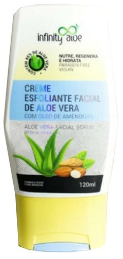 Creme Esfoliante Facial Aloe Vera 120 ml Infinity Aloe