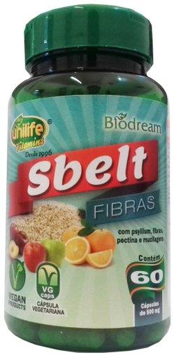 Sbelt Fibras 500 mg 60 cápsulas Unilife