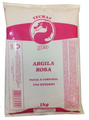 Argila Rosa 1kg - Tecmas Geo