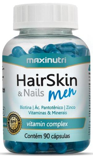 HairSkin & Nails Men 90 cápsulas - Maxinutri