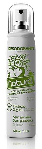 Desodorante Spray Suavetex Orgânico Natural Camomila e Erva Cidreira 120ml - Sua