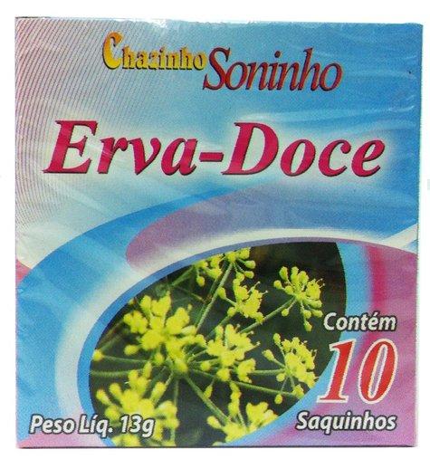 Chazinho Soninho Erva Doce 10g 10 sachês