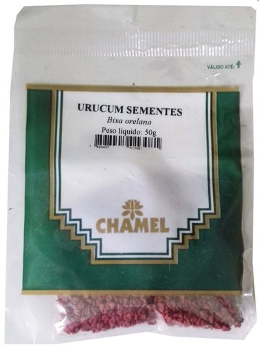 Urucum Sementes 50g - Chamel