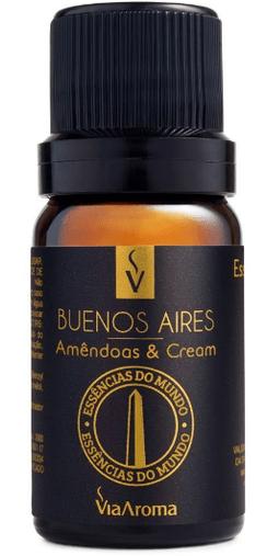Essência Mundo Buenos Aires 10ml Via Aroma