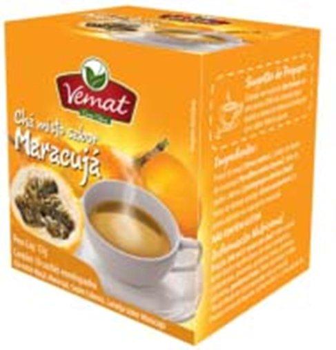 Chá Misto Sabor Maracujá com 10 sachês 13g - Vemat